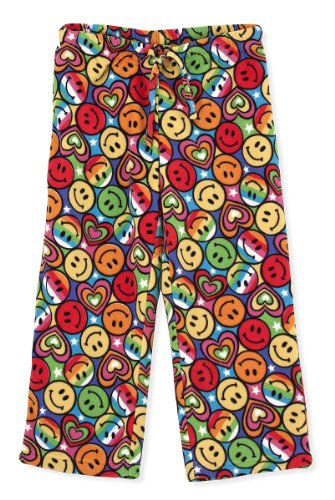 Melissa & Doug Lizzy Fleece Lounge Pants, Large (Youth Size 12-14) - (Faces Lounge Pants)
