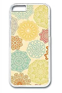 Colorful Flowers 02 Slim Soft Cover for iPhone 6 Plus Case ( 5.5 inch ) PC Transparent Cases