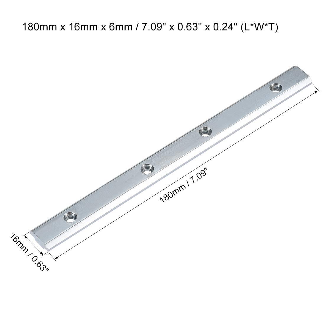 Gelenk Halter f/ür Aluminium Extrusionsprofil Serie 4040-4-tlg sourcing map gerader Leitungsverbinder