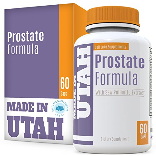 Flash Sale - Natural Prostate Formula, All Natural Blend of Vitamins, Minerals and Herb Ingredients Including Saw Palmetto, Green Tea, Nettle and Many More, Supports Overall Prostate Health