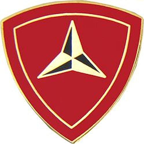 3rd Marine Division Small Hat Pin (Division Hat Marine)