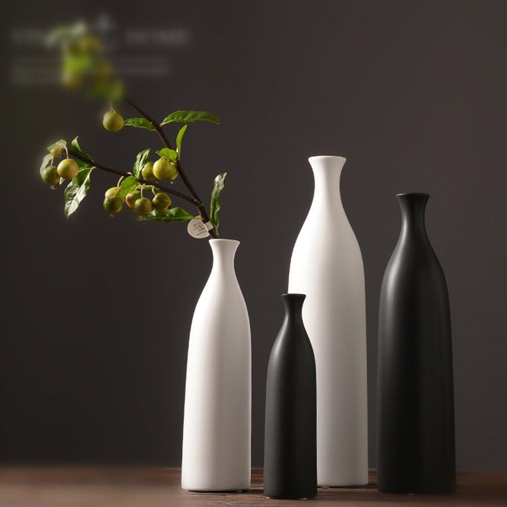 Beige L Dolity Deko Art Blumenvase Dekovase Vase Vasenset nur f/ür Trockenblumen
