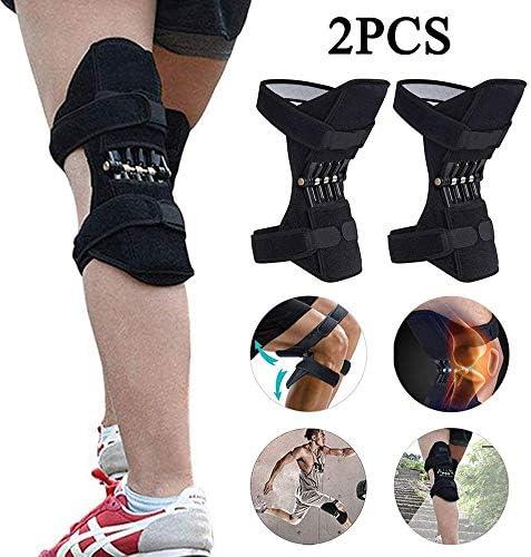JEANN-AZCX Kneepad Unterstützung Lifter Joint Support hat eine Starke Rebound Federkraft - für Gym Jogging Basketball Assist - Sport Injury Rehabilitation und Schutz