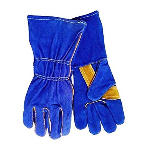 Blue Demon Welding Glove, General Purpose, MIG Stick, One Size Fits Most, (Gloves Purpose Welding)