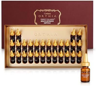 Korean Cosmetics_Coreana Orthia Perfect Collagen 28 Days Intensive Ampoule_2ml x 28ea