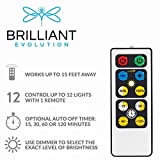 Brilliant Evolution LED Puck Light 2 Pack with