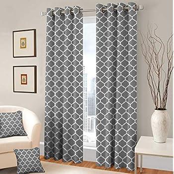 Amazon Com Treewool Decorative Grommet Curtain Panel