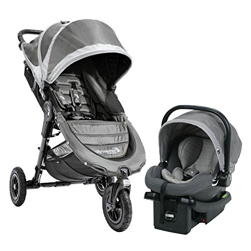 Baby Jogger City Mini GT Travel System -Steel Gray