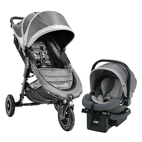 Baby Jogger City Mini GT Travel System -Steel Gray