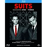 Suits: Seasons 1-2-3 Box Set