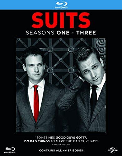 Suits - Season 1-3 [Blu-ray] [2013] [Region Free]