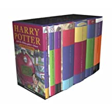 Harry Potter Children's Box Set, Book 1-7, British Cloth Editions: Written by J. K. ROWLING, 1905 Edition, Publisher: Bloomsbury Publishing [Hardcover]