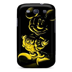 New Cute Funny Micky Yellow Case Cover/ Galaxy S3 Case Cover