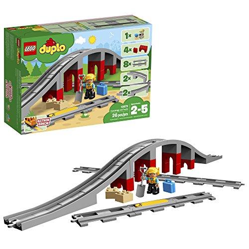 레고(LEGO)듀푸로 놀이가 퍼진! 철도교와 레일 세트 10872