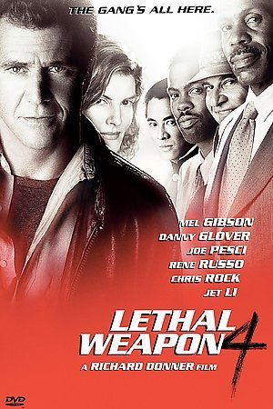 LETHAL WEAPON 4 (DVD/WS/5.1/FR-SUB/BEHIND&DELETED SCENES/INT) NLA ! LETHAL WEAPON 4 (DVD/WS/5.1/FR-