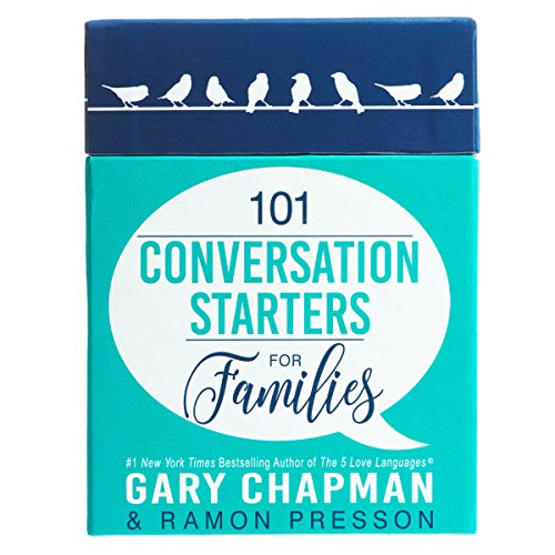 Dinner Conversation Starters - 101 Conversation Starters for Families by Gary Chapman and Ramon Presson