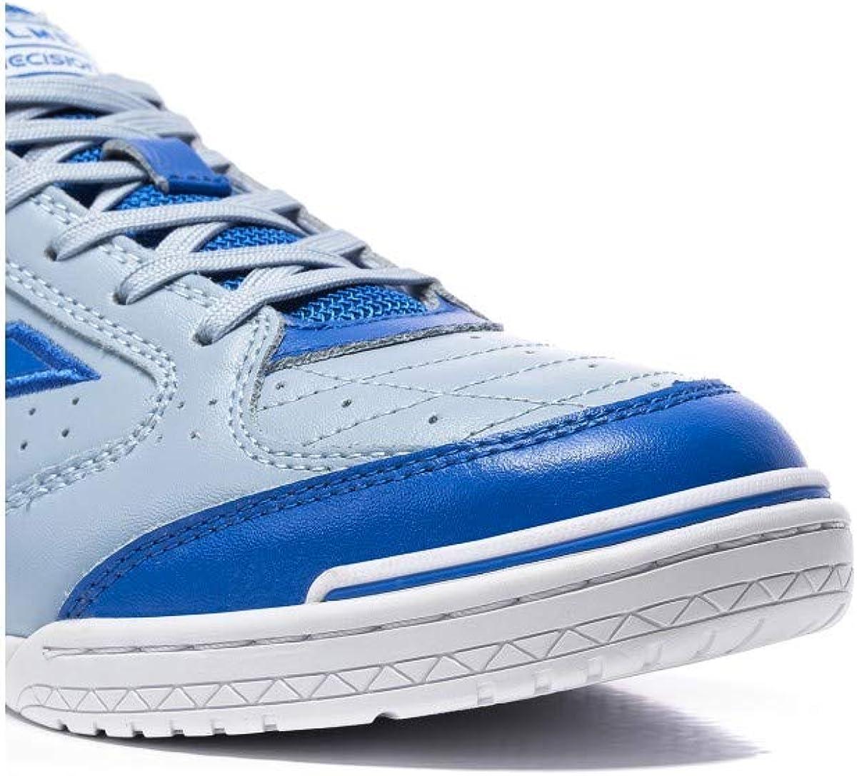 Kelme Precision Elite Acid Piel, Chaussure de Futsal, Bleu-Cyan Bleu Cyan