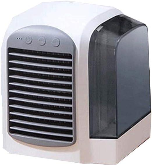 Mini aire acondicionado pequeño, súper frío, viento, hogar ...