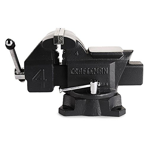 Craftsman 4' Bench Vise with 180 Degree Swivel