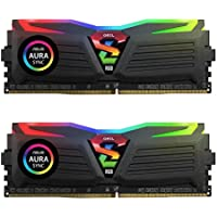 GeIL Super Luce 8GB (2 x 4GB) PC4-19200 2400MHz DDR4 288-Pin DIMM Desktop Memory