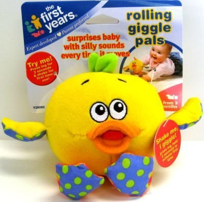 Baby Toy Rolling Giggle Pup 10 pcs sku# 904601MA by Learning Curve