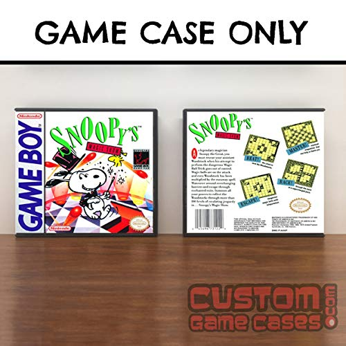 Gameboy Snoopy's Magic Show - Game Case