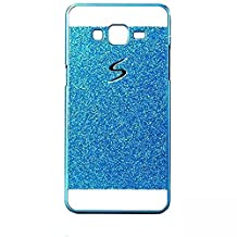KSHOP Bling Case Coque for iPhone SE 5 5S Bling Sparkling Hard Case Perfect Fit Glitter Shinning Back CoverEtui Housse Anit-scratch Practical Protective Bumper Shell - Blue Bleu