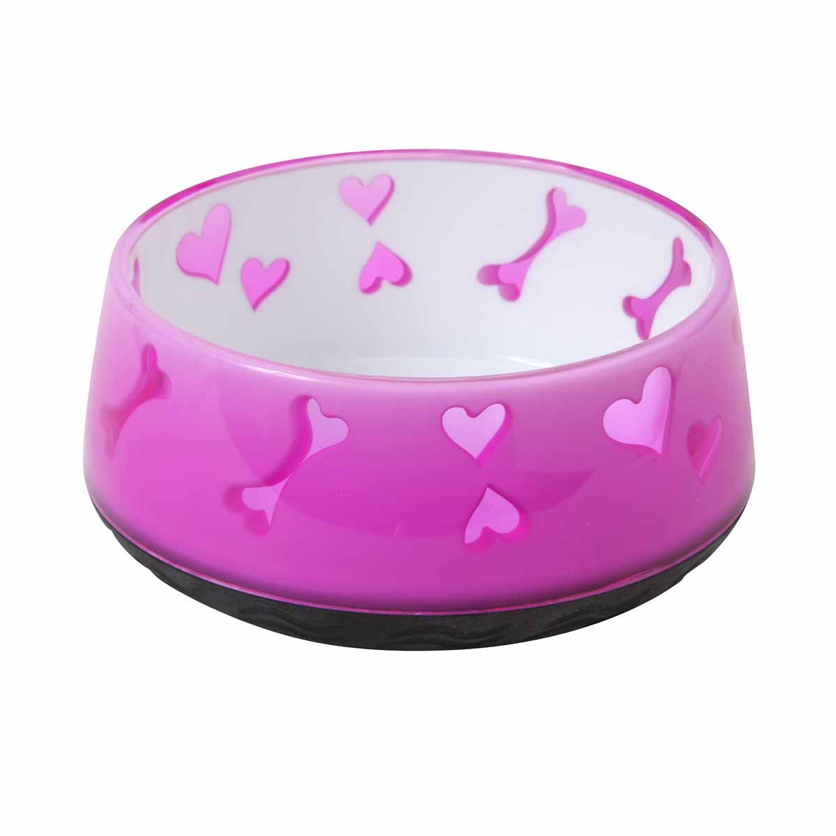Dogit Home Non-Skid Pet Bowl, 10.1-Ounce, Pink