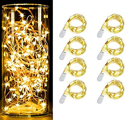Gluckluz String Lights Fairy Lighting Moon Lamp Battery Operated