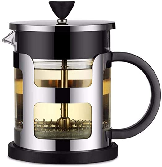 Hokaime French Press Coffee Maker, French Press Cafetera de Acero ...