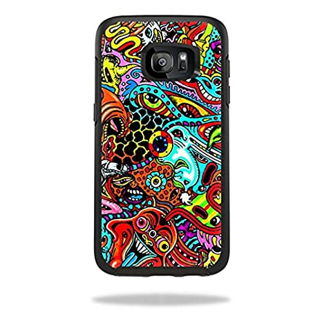 MightySkins Protective Vinyl Skin Decal for OtterBox Symmetry Samsung Galaxy S8+ Case Sticker wrap Cover Sticker Skins Aztec Deer SymmetrySamsung Galaxy S8+ Case
