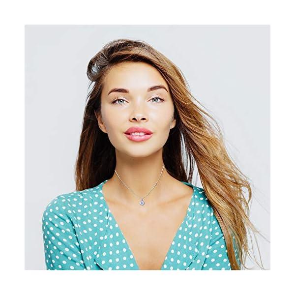 Landau Jewelry Women's Necklace – Deluxe Pave Stud – Premium Quality Finish and Stones – Elegant Design – Original Gift for Women, Girls