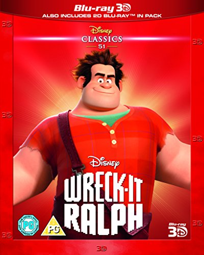 Wreck-It Ralph (Limited Edition Artwork Sleeve) [Blu-ray 3D + Blu-ray] [Region Free]