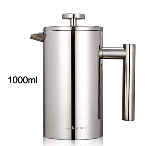 Amazon.com: Stainless Steel French Press Coffee Maker ...