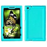 Bobj for ASUS ZenPad Z170C, Z170CG, Z170MG, P01Z – BobjGear Protective Tablet Cover (Terrific Turquoise)