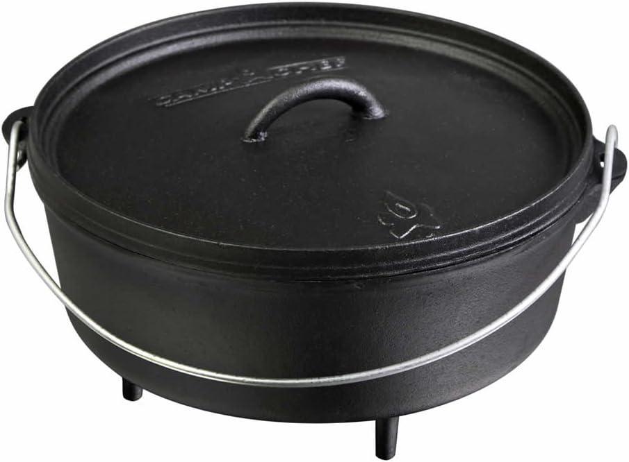 "Amazon.com: Camp Chef Classic 12"" Dutch Oven: Sports & Outdoors"