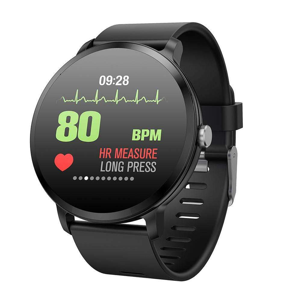 Fitness Tracker for Kids,Miya Touch Screen Smart Wristwatch IP67 Waterproof Activity Tracker with Heart Rate Monitor/Blood Pressure Smart Watch Sleep Monitor Calorie Counter for Android iOS,Black