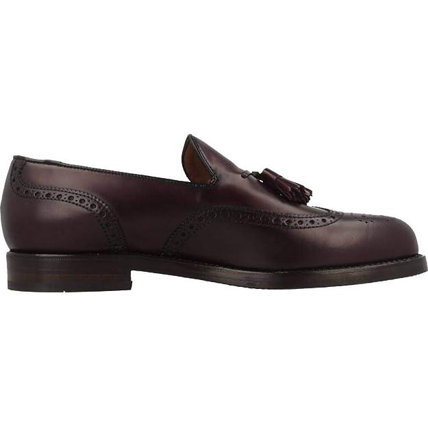 Mocasines para Hombre, Color Rojo, Marca LOTTUSSE, Modelo Mocasines para Hombre LOTTUSSE L6811 Rojo: Amazon.es: Zapatos y complementos
