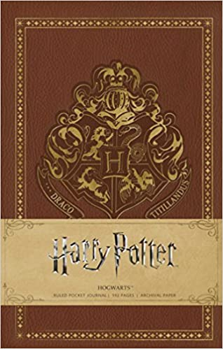 Harry Potter Hogwarts. Ruled Pocket Journal por Vv.aa