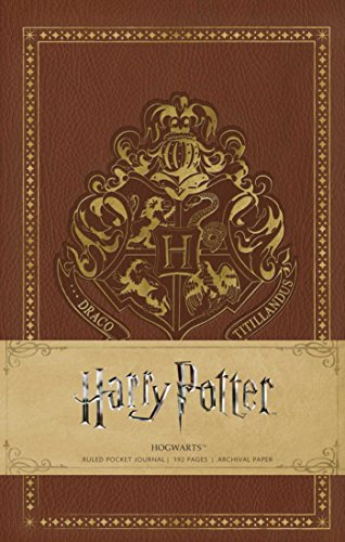 Harry Potter: Hogwarts Ruled Pocket Journal (Insights Journals) [Insight Editions] (Tapa Dura)