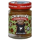 Crofters Food Ltd. Premium Sprd Og Apricot 10-Ounce -Pack of 6