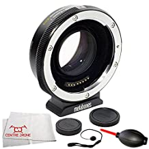 Metabones Canon EF to Sony E-Mount T Speed Booster ULTRA II 0.71x (Fifth Generation) 6PC Accessory Bundle – Includes Manufacturer Accessories + Lens Cap Keeper + Dust Blower + Microfiber Cleaning Cloth