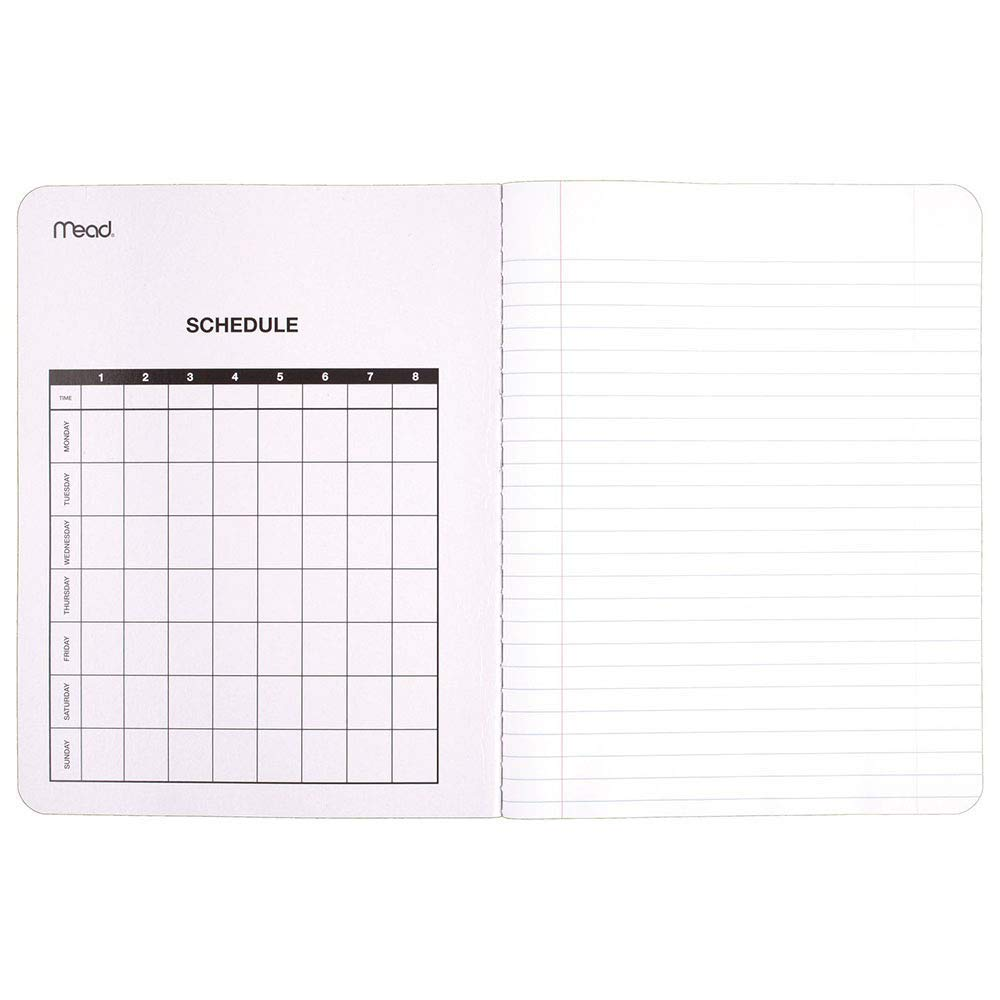 Mead NCVBHDGH Composition Book/Notebook, Wide Ruled Paper, 100 Sheets (09910) 36 Pack by  (Image #2)
