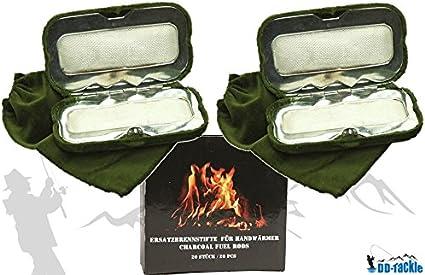 Sparpack 2 Handwärmer 20 Brennstifte Taschenofen