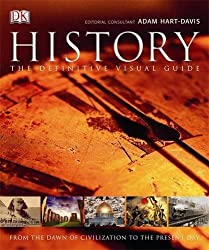 History: The Definitive Visual Guide by Hart-Davis, Adam (2013) Hardcover