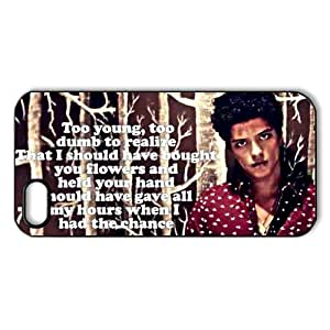 CTSLR iphone 5 Case - Pop Singer Star Series Protective Hard Back Plastic Case Cover for iphone 5- 1 Pack - Bruno Mars(16.10) - 17