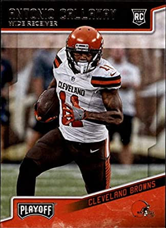 2018 Panini Playoff  282 Antonio Callaway Rookie NM-MT RC Cleveland Browns  Rookie Official ae1f6c557
