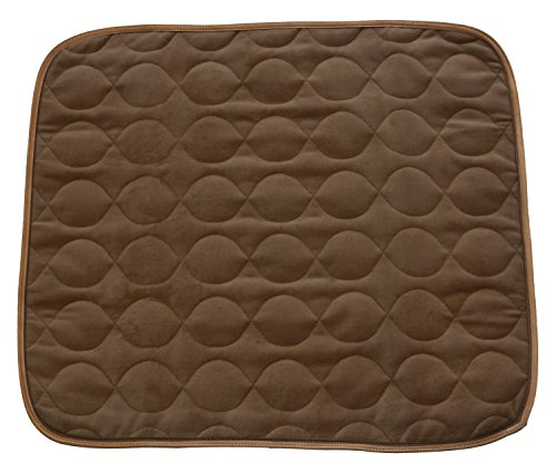 RMS-CP-600BW-Absorbent-Washable-Reusable-Incontinence-Chair-Seat-Protector-Pad-Underpad-3-Layer-Innovative-Design-350-Washes-Guarantee-21-Width-22-Length-Brown