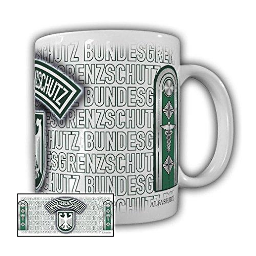Government Assistant BGS Federal Border Guard Coat of Arms Badge Souvenir Shoulder Valve Uniform Border Guards - Coffee Cup Mug