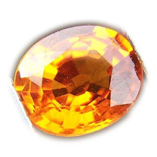 0.93ct Natural Oval Yellow Sapphire Sri-lanka ()